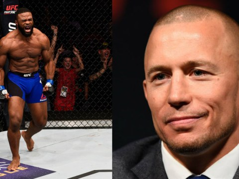 UFC champion Tyron Woodley fights Demian Maia for shot at returning legend Georges St-Pierre