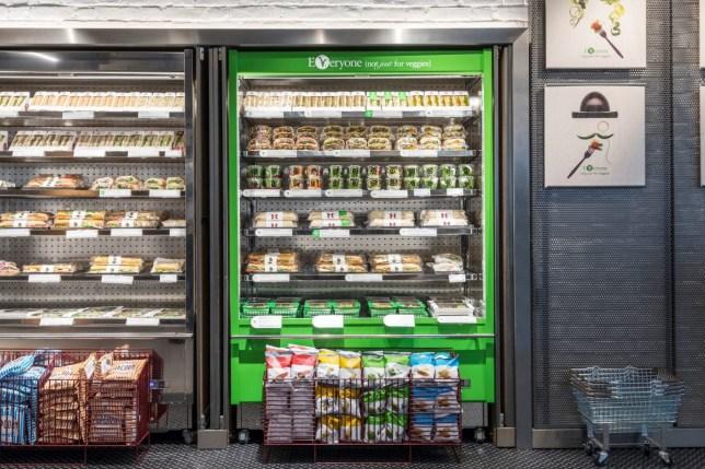 veggie fridge in pret