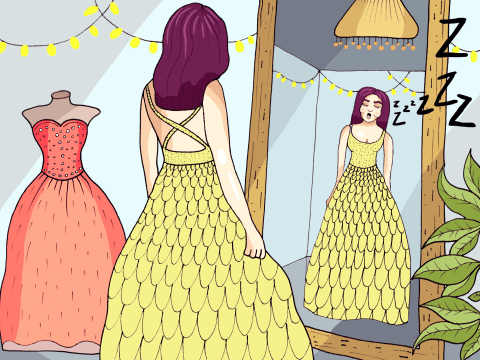 Why picking bridesmaid dresses is such a complete and utter nightmare