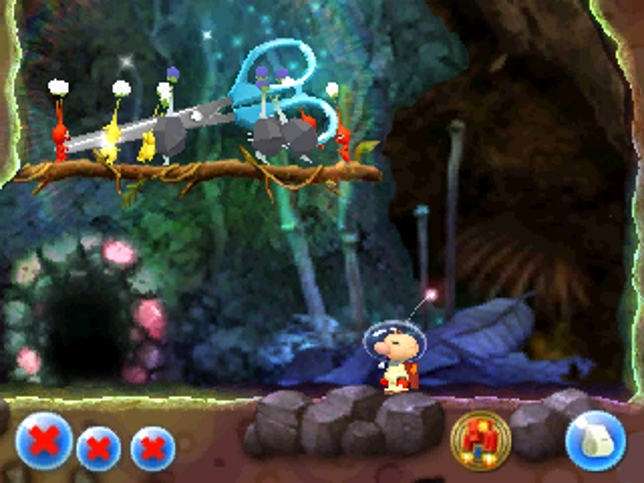 Hey! Pikmin (3DS) - if we were pikmin we wouldn't follow Olimar anywhere