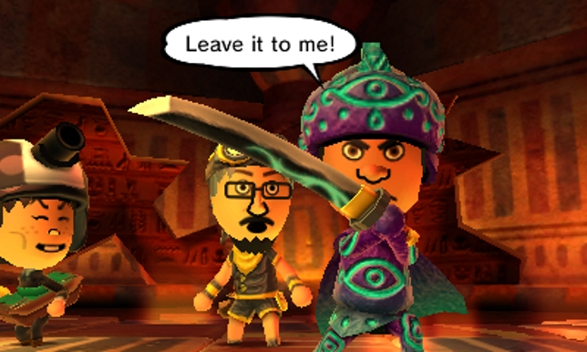 Miitopia (3DS) - you really are the hero in this game