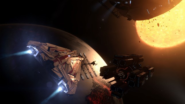 Elite Dangerous (PS4) - the galaxy is your oyster