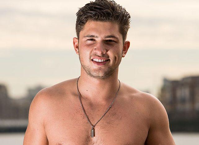 Jordan Davies shirtless
