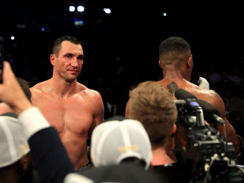 Wladimir Klitschko would not want to retire in Cardiff against Anthony Joshua, suggest Eddie Hearn