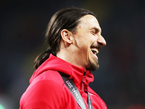 694ed308c86 Zlatan Ibrahimovic set for sensational return to Manchester United first  team by the end of 2017