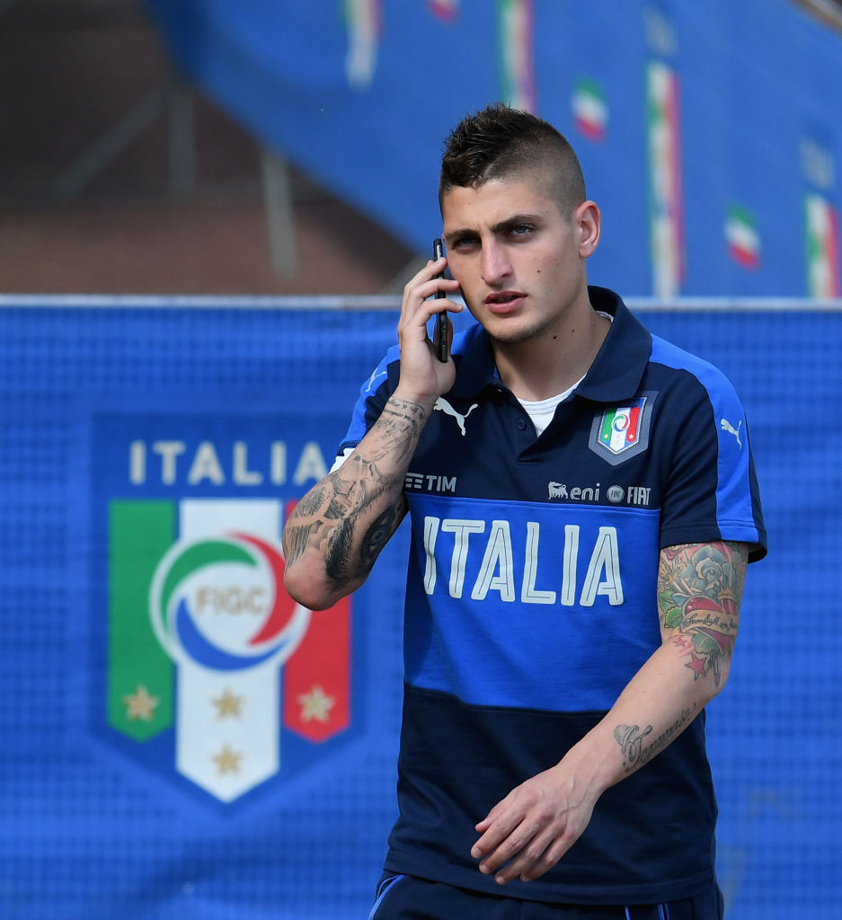 Manchester United receive transfer boost as Marco Verratti prepares to team up with Mino Raiola