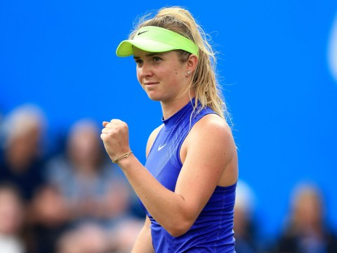 After growing up idolising Andre Agassi, Wimbledon's 4th seed Elina Svitolina is dreaming big