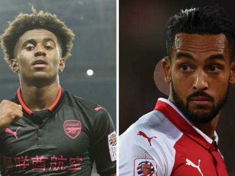 Arsenal fans think Reiss Nelson is already better than Theo Walcott