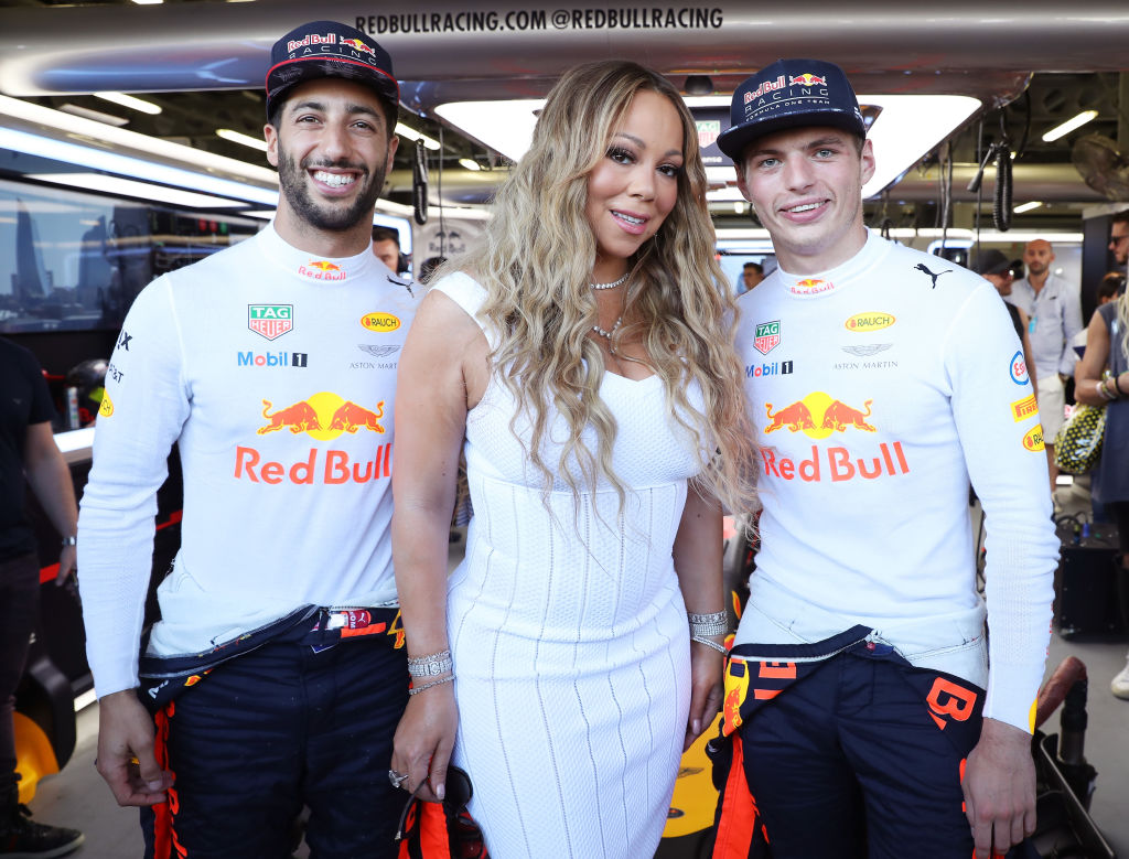 From Mariah Carey to Rupert Grint – All the celebs enjoying Formula 1 2017