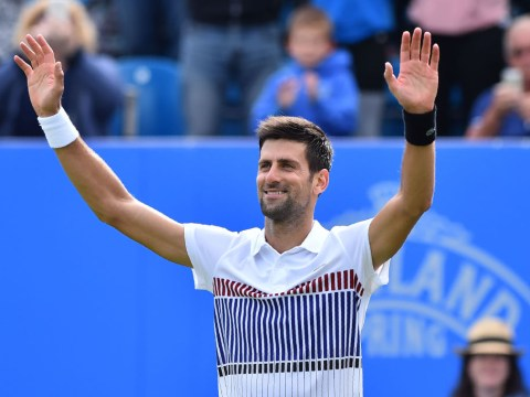 Novak Djokovic wins title on Eastbourne debut in perfect Wimbledon warm-up as Karolina Pliskova also comes out on top