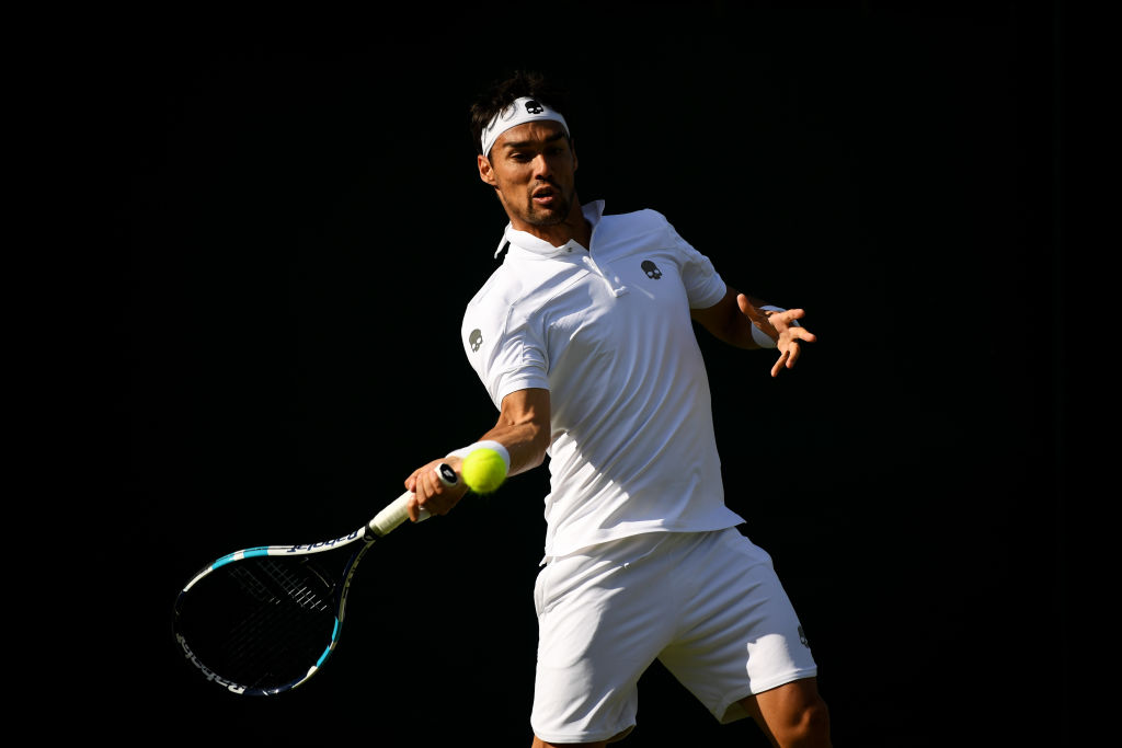Fabio Fognini hoping to 'complicate' Andy Murray's life at Wimbledon