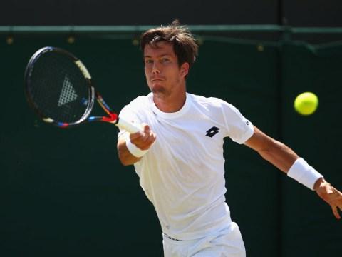 Aljaz Bedene out as Gilles Muller advances to the second week of Wimbledon