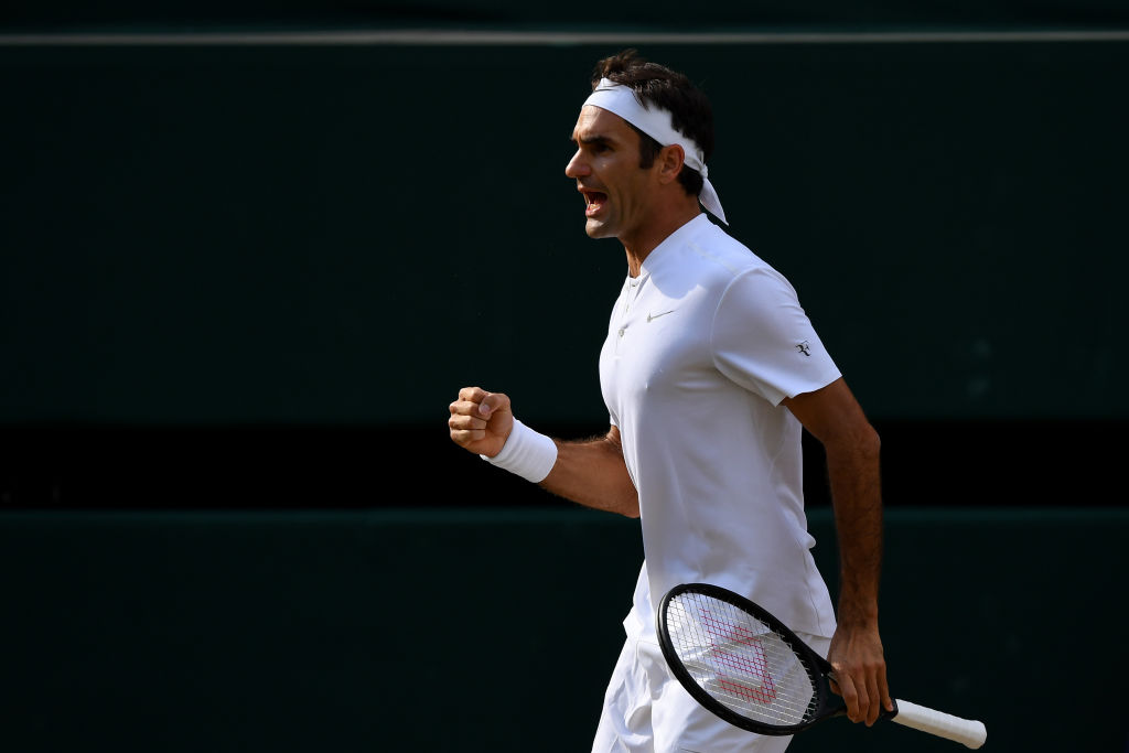 Roger Federer closes in on historic eighth Wimbledon title after Tomas Berdych win