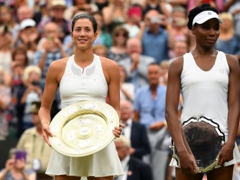 Garbine Muguruza responds to becoming first player to beat Serena & Venus Williams in a Grand Slam final