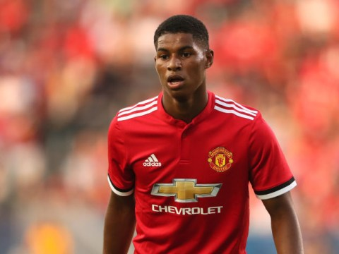 Dwight Yorke admits warning bells went off when he saw Marcus Rashford in the gym