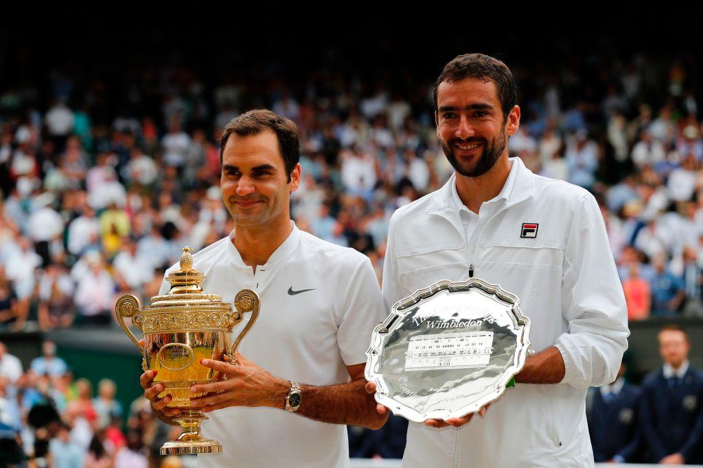 Roger Federer shows true class and brands Marin Cilic a 'hero' for Wimbledon final battle