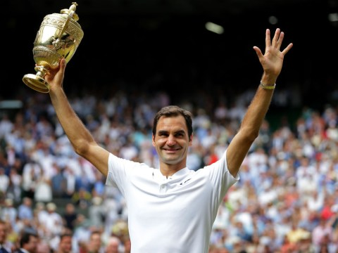 Roger Federer's brilliant tweet moments after record-breaking Wimbledon title