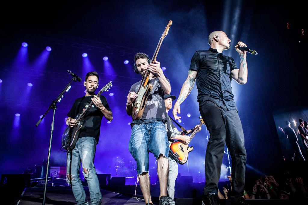 Linkin Park's albums soar through the charts following the news of Chester Bennington's tragic death