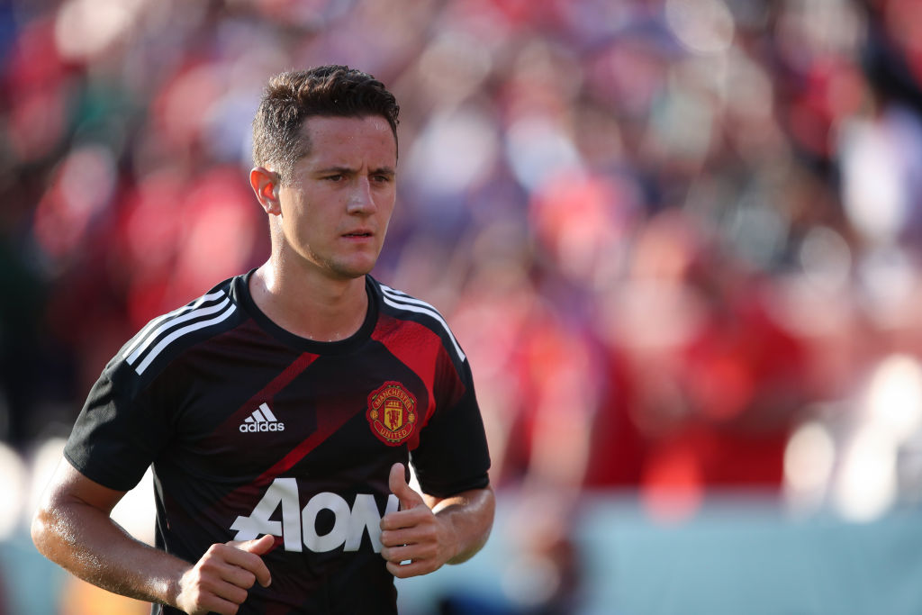 Ander Herrera's Manchester United future in doubt after training-ground blunder