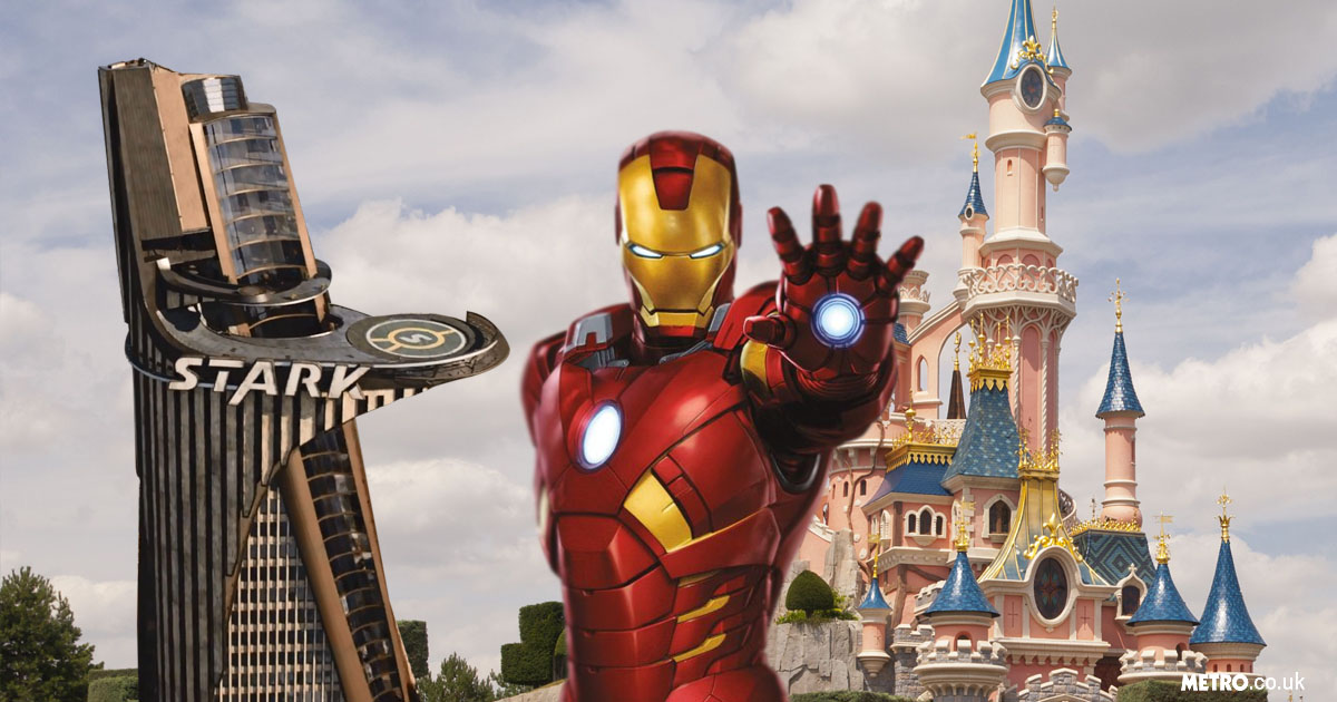 Ever wanted to live like Iron Man? Disneyland Paris to open Marvel hotel which allows you to explore the superhero universe