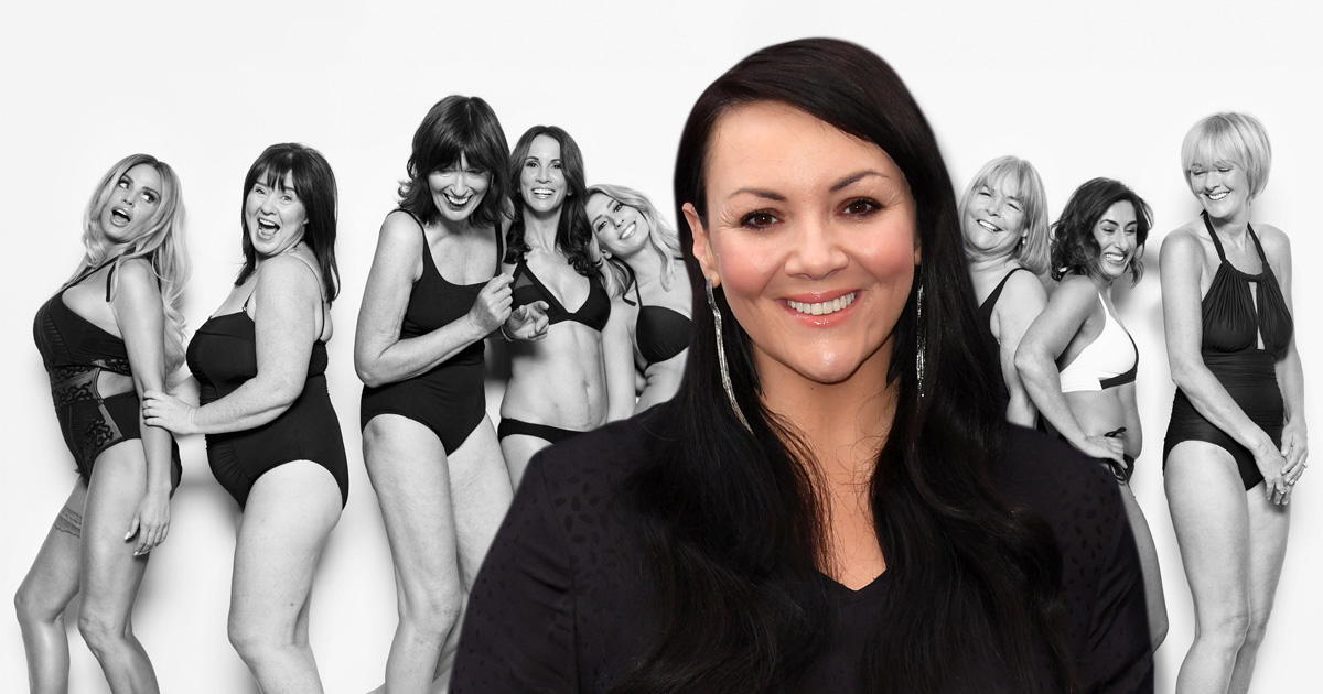 Martine McCutcheon says she turned down Loose Women Body Stories shoot: 'I didn't feel great'