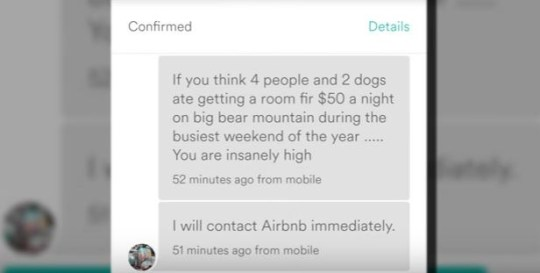 Big Bear Airbnb host cancels guest because she's Asian