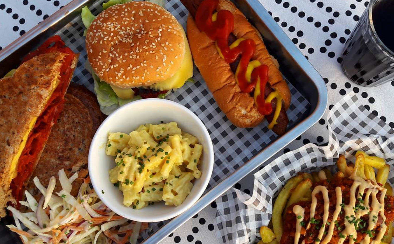 A vegan American diner is opening in the UK