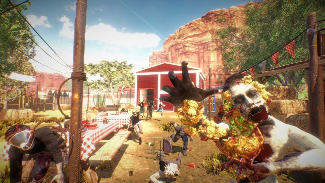 Arizona Sunshine (PSVR) - the farmyard of the dead
