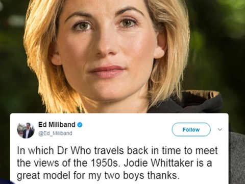 Ed Miliband has a typically sassy response for critics of the first female Dr Who