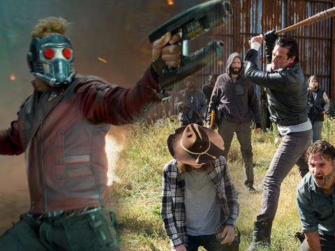 The Walking Dead meets Guardians Of The Galaxy in this brilliant mashup