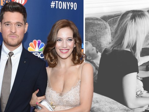 'Time stops': Michael Buble's wife shares sweet photo of son Noah following cancer battle
