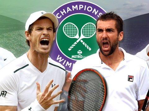 Wimbledon 2017 men's quarter-finals LIVE! Murray in shock defeat, Djokovic retires, Federer and Cilic through