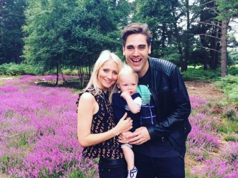 Busted's Charlie Simpson reveals wife is expecting baby number two