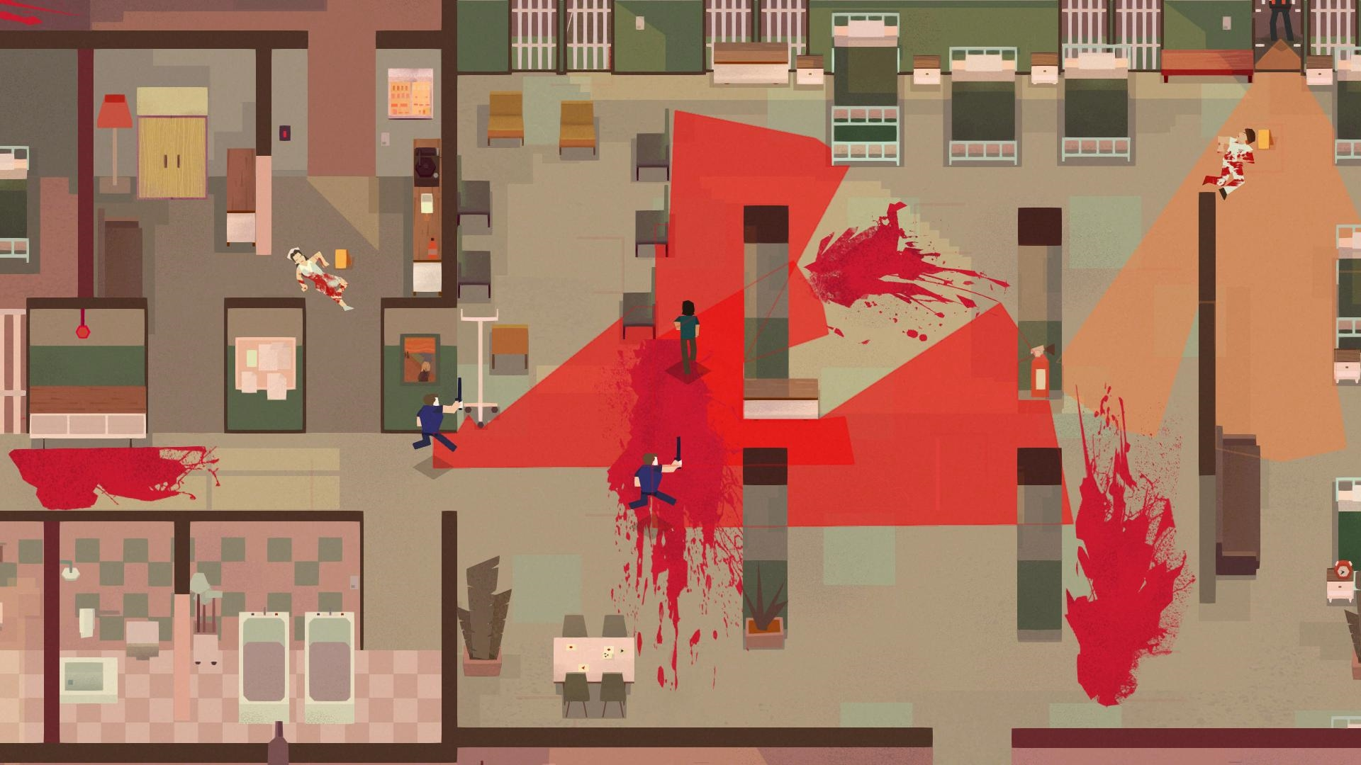 Serial Cleaner (PS4) - imagine having to clean up after Hotline Miami