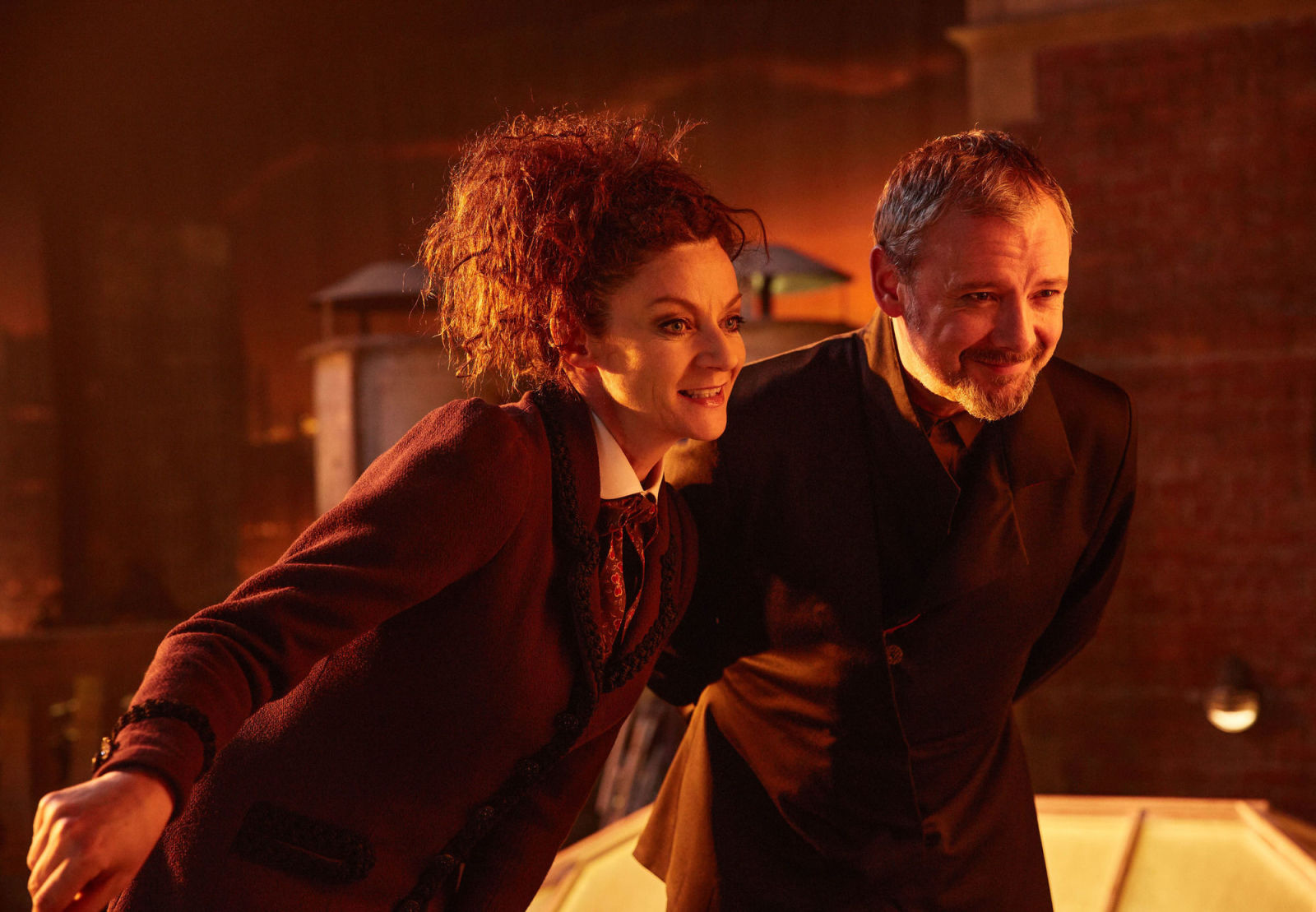Doctor Who: Michelle Gomez and Matt Lucas bid farewell to their characters following series 10 finale