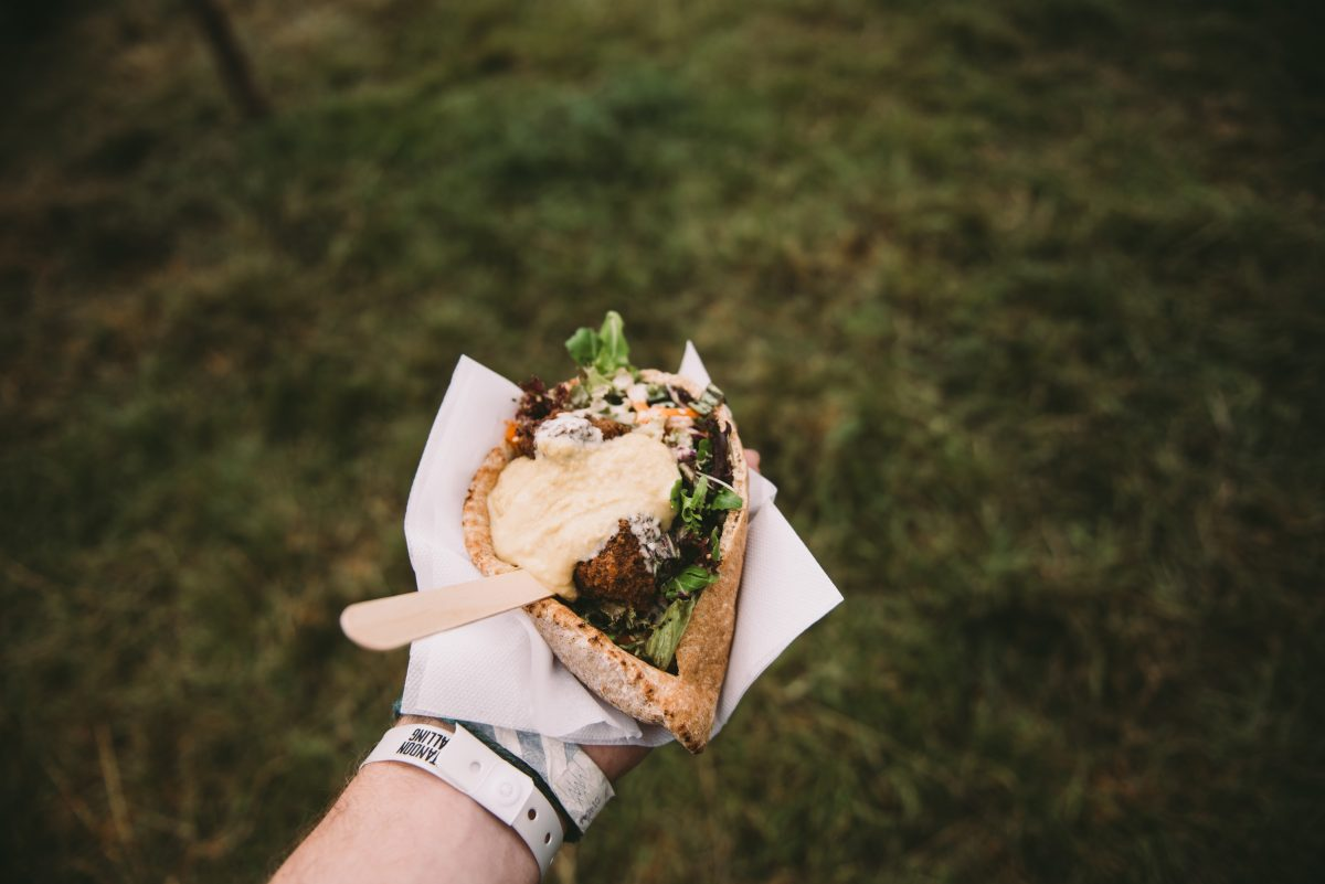 The vegan food guide to this summer's music festivals