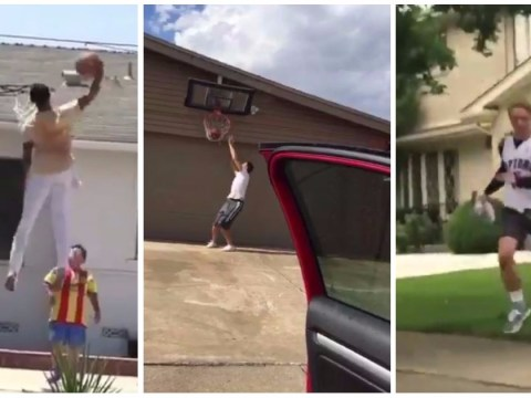 8 of the most savage Drive By Dunk Challenge fails