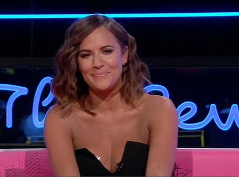 Caroline Flack's tit tape got the most attention during the Love Island reunion