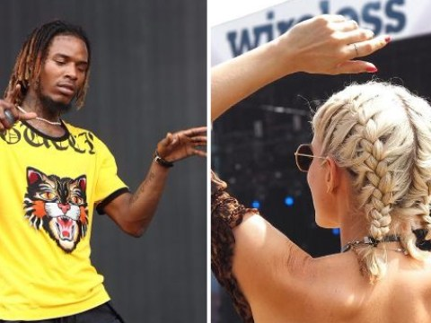 Made In Chelsea's Ashley James wants to find Fetty Wap at Wireless