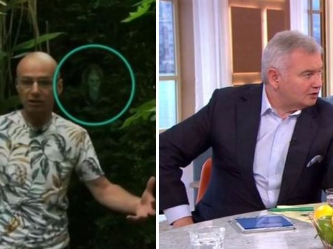 Eamonn Holmes spots ghost behind interviewee live on This Morning