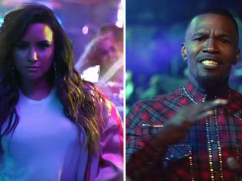 Demi Lovato and Jamie Foxx are Sorry Not Sorry in her new house-party themed video