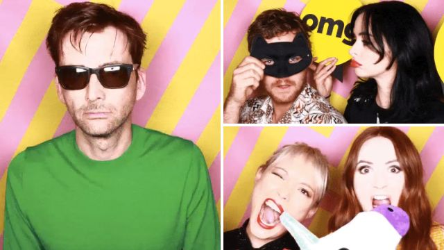 Comic-Con: David Tennant, Karen Gillan and more are having all the fun in prop-filled photo booth