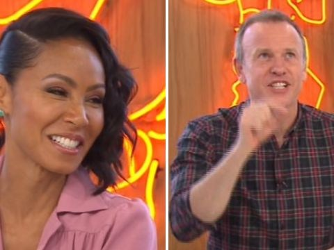 Tim Lovejoy gets the name of Jada Pinkett Smith's new film wrong live on air