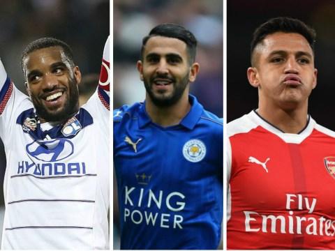 Arsenal fans unleash 'LMAO' nickname in anticipation of Lacazette-Mahrez-Alexis-Ozil attack