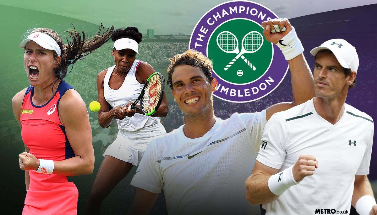 Wimbledon 2017 LIVE Day 3! Nadal, Murray, Konta, Watson and Bedene win