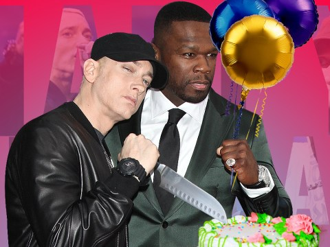 Eminem sends 50 Cent a birthday message calling him out for 'the verse that made me want to quit rap'
