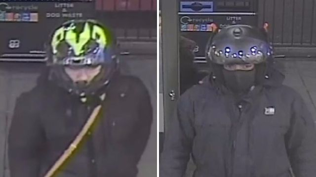 Moped robbers snatched handbags off lone women's shoulders