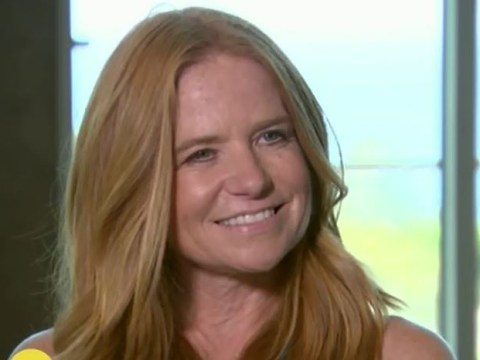 Patsy Palmer says she hasn't given up acting completely – but she doesn't miss it