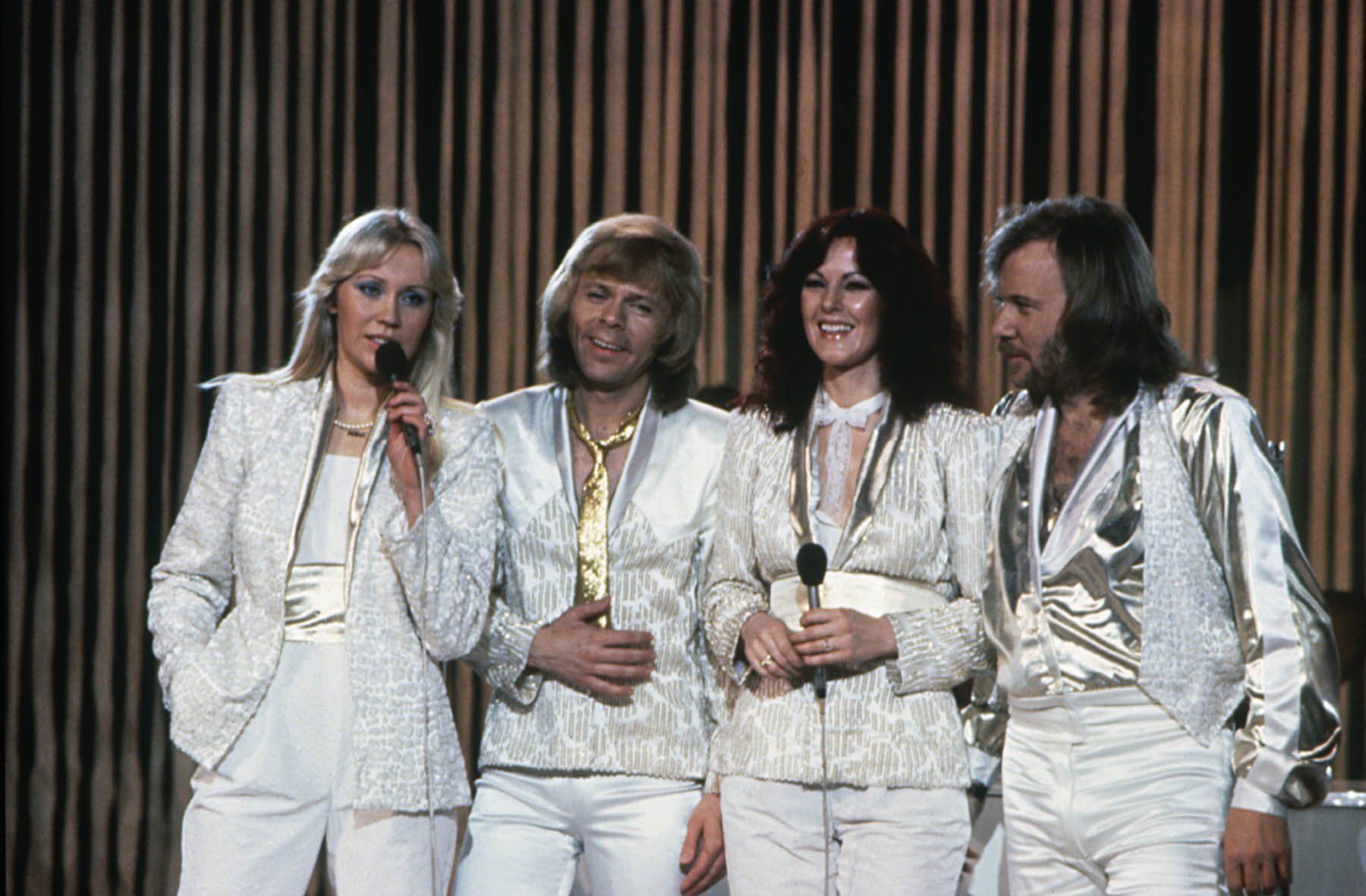 ABBA to reunite for new exhibition at Waterloo 43 years after hit single