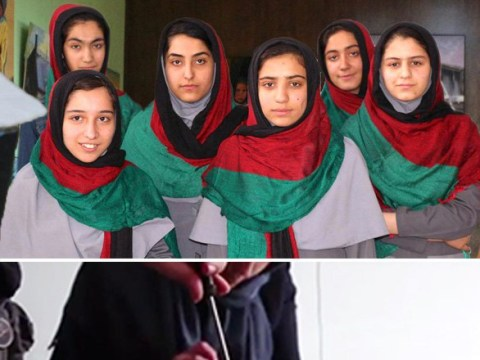 Afghanistan's all-girl robotics team banned from going to US for competition
